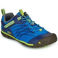 Čevlji  Dečki Športni sandali Keen CHANDLER CNX Modra / Zelena