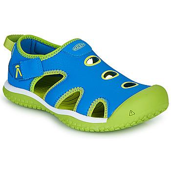 Čevlji  Otroci Športni sandali Keen STINGRAY Modra / Zelena