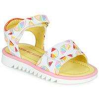 Čevlji  Deklice Sandali & Odprti čevlji Agatha Ruiz de la Prada SMILES Bela / Večbarvna