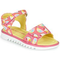Čevlji  Deklice Sandali & Odprti čevlji Agatha Ruiz de la Prada SMILES Rožnata / Večbarvna