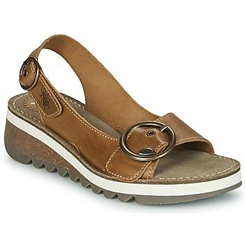 Čevlji  Ženske Sandali & Odprti čevlji Fly London TRAM2 FLY Kamel