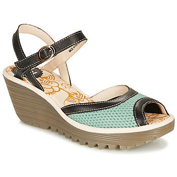 Čevlji  Ženske Sandali & Odprti čevlji Fly London YANS Modra / Črna