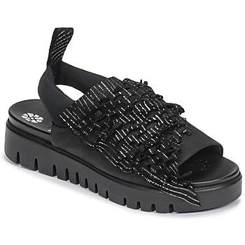 Čevlji  Ženske Sandali & Odprti čevlji Papucei RAMINA Črna