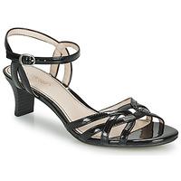 Čevlji  Ženske Sandali & Odprti čevlji Esprit BIRKIN SANDAL Črna