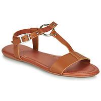 Čevlji  Ženske Sandali & Odprti čevlji Esprit KONA T STRAP Cognac