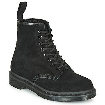 Čevlji  Polškornji Dr Martens 1460 MONO SOFT BUCK Črna