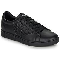 Čevlji  Moški Nizke superge Emporio Armani EA7 CLASSIC NEW CC Črna