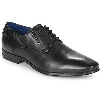 Čevlji  Moški Čevlji Derby Bugatti MORINO Črna