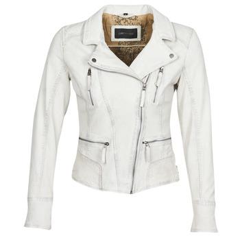 Oblačila Ženske Usnjene jakne & Sintetične jakne Oakwood CAMERA Bela