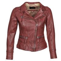 Oblačila Ženske Usnjene jakne & Sintetične jakne Oakwood CAMERA Rdeča