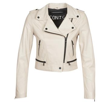Oblačila Ženske Usnjene jakne & Sintetične jakne Oakwood YOKO Slono-koščena