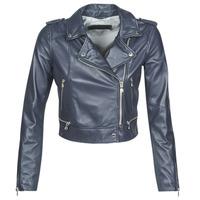 Oblačila Ženske Usnjene jakne & Sintetične jakne Oakwood YOKO Modra