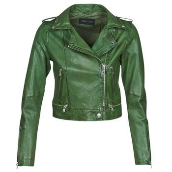 Oblačila Ženske Usnjene jakne & Sintetične jakne Oakwood KYOTO Zelena