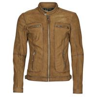Oblačila Moški Usnjene jakne & Sintetične jakne Oakwood PLEASE Cognac