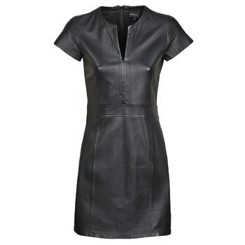 Oblačila Ženske Kratke obleke Oakwood PLEASE Črna