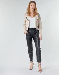 Oblačila Ženske Hlače s 5 žepi Oakwood GIFT Črna