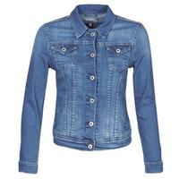 Oblačila Ženske Jeans jakne Pepe jeans THRIFT Modra / Hb6