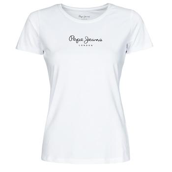 Oblačila Ženske Majice s kratkimi rokavi Pepe jeans NEW VIRGINIA Bela