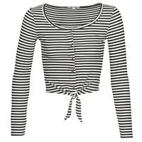 Oblačila Ženske Topi & Bluze Pepe jeans FALBALA Črna