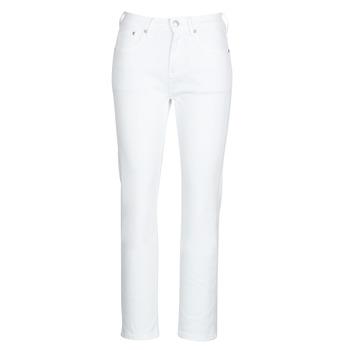 Oblačila Ženske Jeans straight Pepe jeans MARY Bela
