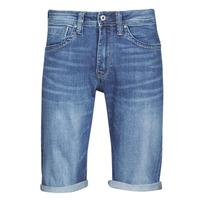 Oblačila Moški Kratke hlače & Bermuda Pepe jeans CASH Modra