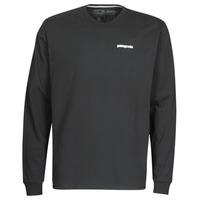 Oblačila Moški Majice z dolgimi rokavi Patagonia M's L/S P-6 Logo Responsibili-Tee Črna