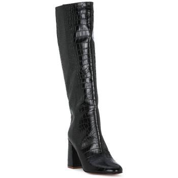 Čevlji  Ženske Mestni škornji    Priv Lab COCCO NERO Nero