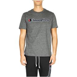 Oblačila Moški Majice & Polo majice Champion Crewneck T-Shirt em516-grdkm-grigio-scuro