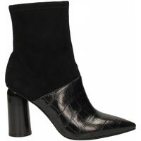 Čevlji  Ženske Gležnjarji Jeffrey Campbell LUSTFUL 2 SUEDE PU stone-black-nero