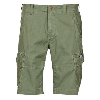Oblačila Moški Kratke hlače & Bermuda Superdry CORE CARGO SHORTS Zelena