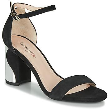 Čevlji  Ženske Sandali & Odprti čevlji Metamorf'Ose GABELOU Črna