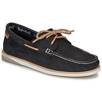 Čevlji  Moški Mokasini & Jadralni čevlji Timberland ATLANTIS BREAK BOAT SHOE Črna