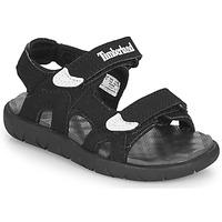 Čevlji  Otroci Sandali & Odprti čevlji Timberland PERKINS ROW 2-STRAP Črna