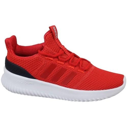 Čevlji  Otroci Nizke superge adidas Originals Cloudfoam Ultimate Rdeča