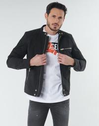 Oblačila Moški Jakne Diesel J-GLORY Črna