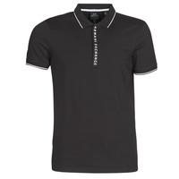 Oblačila Moški Polo majice kratki rokavi Armani Exchange HANEMO Črna