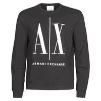 Oblačila Moški Puloverji Armani Exchange HELIX Črna