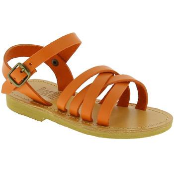 Čevlji  Deklice Sandali & Odprti čevlji Attica Sandals HEBE CALF ORANGE arancio