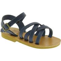 Čevlji  Moški Sandali & Odprti čevlji Attica Sandals HEBE NUBUK BLUE blu