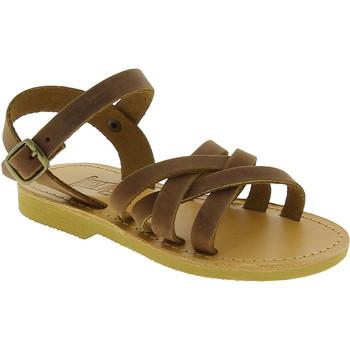 Čevlji  Deklice Sandali & Odprti čevlji Attica Sandals HEBE NUBUK DK BROWN Marrone medio