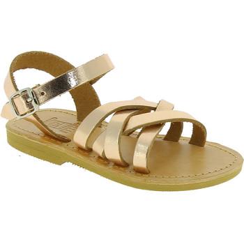 Čevlji  Deklice Sandali & Odprti čevlji Attica Sandals HEBE CALF GOLD PINK Oro rosa