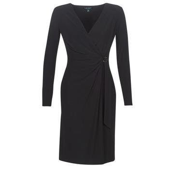 Oblačila Ženske Dolge obleke Lauren Ralph Lauren  Črna