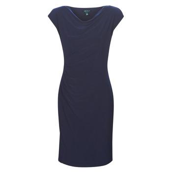 Oblačila Ženske Kratke obleke Lauren Ralph Lauren Ancelin Modra
