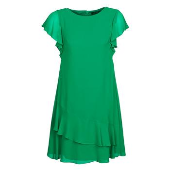 Oblačila Ženske Kratke obleke Lauren Ralph Lauren Arnould Zelena