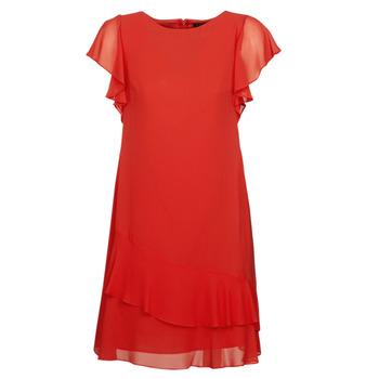 Oblačila Ženske Kratke obleke Lauren Ralph Lauren Arolde Rdeča
