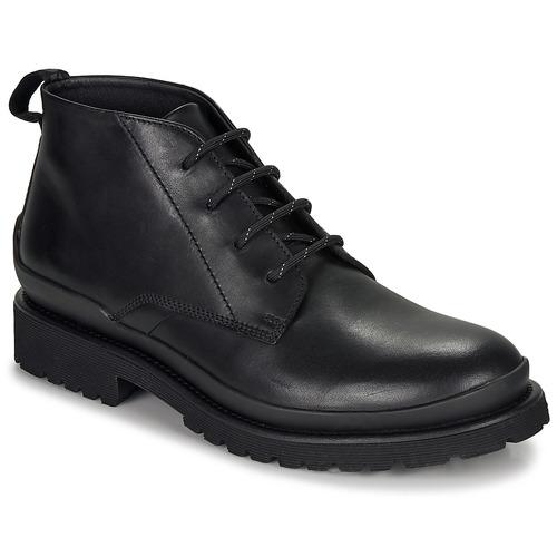 Čevlji  Moški Polškornji HUGO SCOUT DESB IT Črna