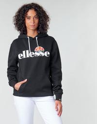 Oblačila Ženske Puloverji Ellesse PICTON Črna