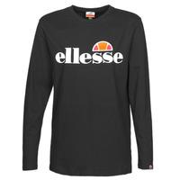Oblačila Ženske Majice z dolgimi rokavi Ellesse GRAZIE Črna