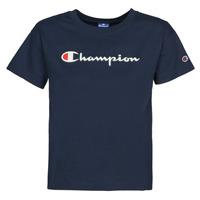Oblačila Ženske Majice s kratkimi rokavi Champion KOOLATE Modra