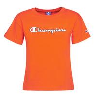 Oblačila Ženske Majice s kratkimi rokavi Champion KOOLATE Rdeča